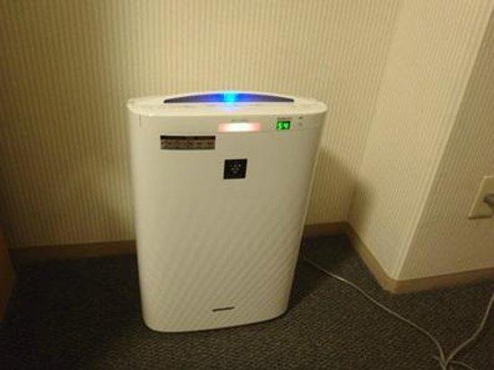 Matsuyama Tokyu REI Hotel: 空気清浄機