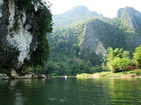 River Tubing: Nam Song River