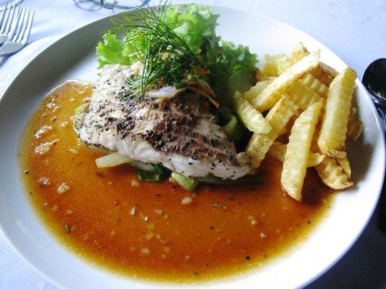 Le Jaenzan Restaurant: fish menu