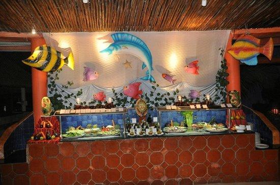 Iberostar Quetzal Playacar: Caribbean restaurant - buffet