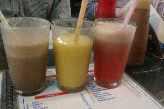 Blue Sky Cafe: Milk Sahke