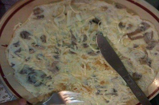 Blue Sky Cafe: Mushroom Cheese Omelet