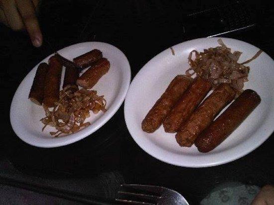 Blue Sky Cafe: Chicken Sausages