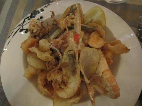 Ristorante Fubi's : Fried shrimp and fish