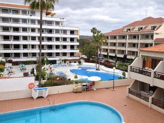 Hotel-Apartamentos Andorra: Udsigt fra balkon
