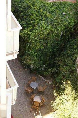 Hotel Cosmos : Vista panorámica desde el balcón