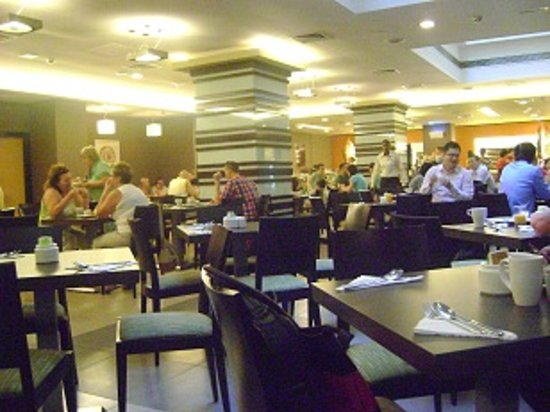 Citymax Hotels Bur Dubai: breakfast hall