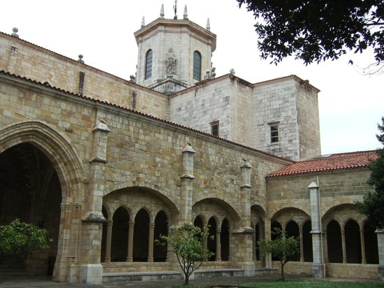 Cathedral Santander : Cathedral grounds