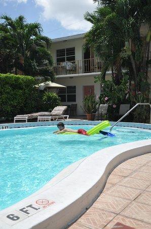 Shore Haven Resort Inn : zwembad