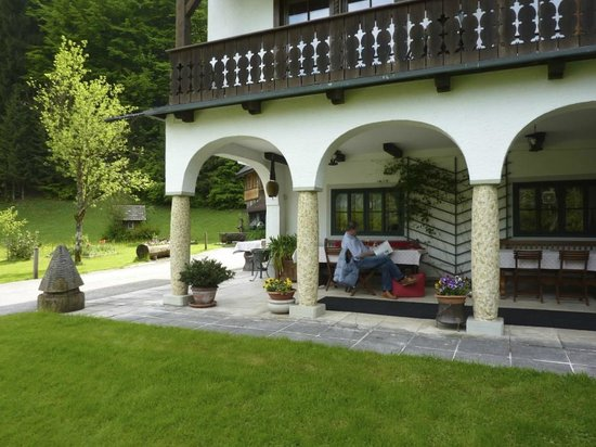 Waldpension Goschlseben : Ein schöner Platz für ein kühles Glas Bier
