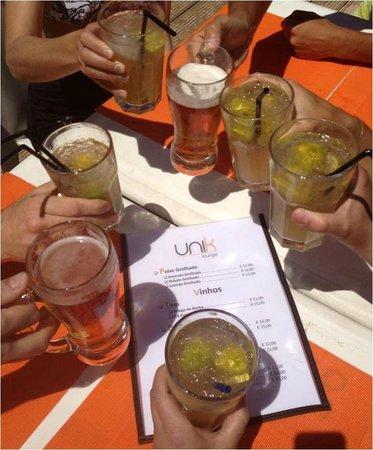 Unik Lounge : Caipirinha com os Amigos!!!