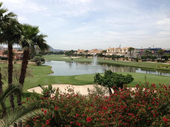 Hotel Alicante Golf: Outstanding views of golf course