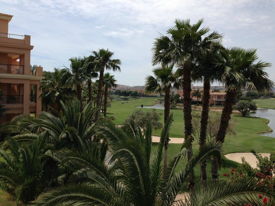 Hotel Alicante Golf : View from 2nd floor room