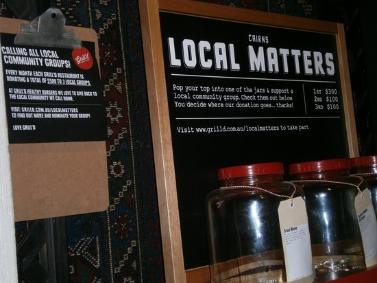 Grill'd: Local matters