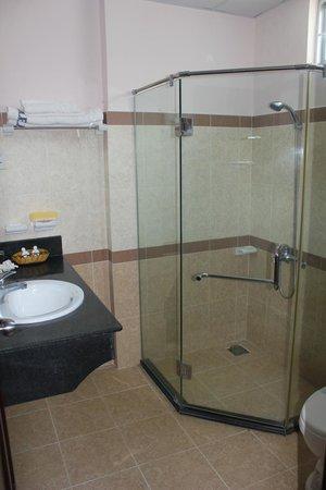 Violet Hotel: Ванная комната