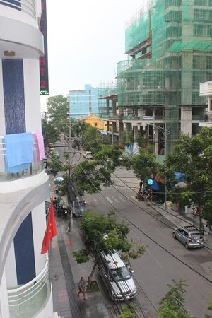 Violet Hotel: Вид с нашего балкона