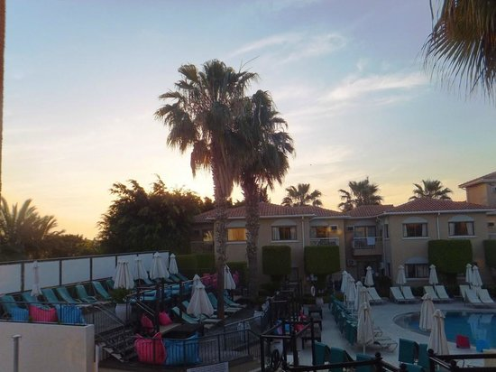 The King Jason Paphos: View from room 86 balcony