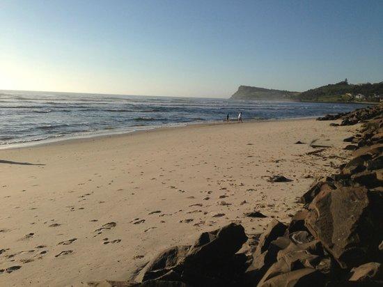 Lennox Beach Resort - Lennox Head: View looking towards the heads