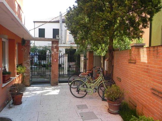 Hotel La Pergola di Venezia: Cours d'entrée