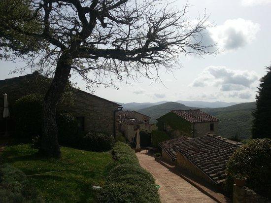 Il Borgo di Vescine - Relais del Chianti : garden area