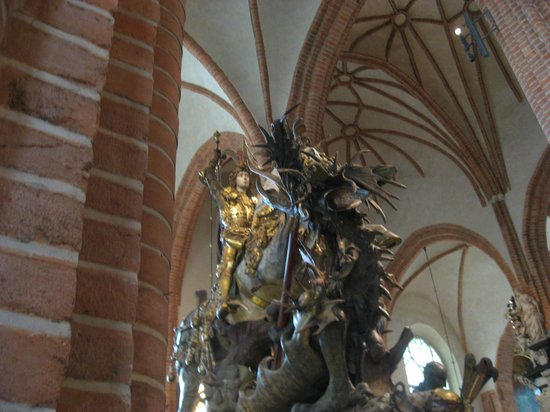 St. George & Dragon - Picture of Stockholm Cathedral, Stockholm ...