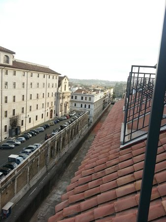 Palatino Grand Hotel Rome: great balcony