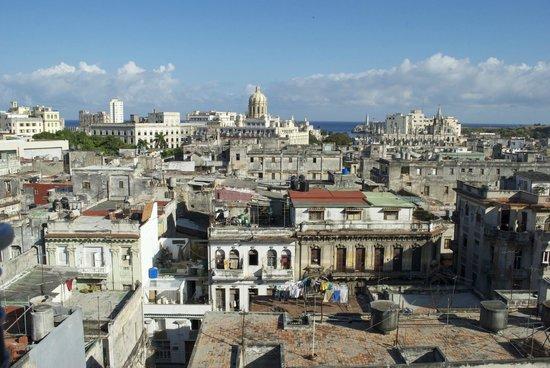 Una delle meravigliose viste su l'Havana da Casa Alina