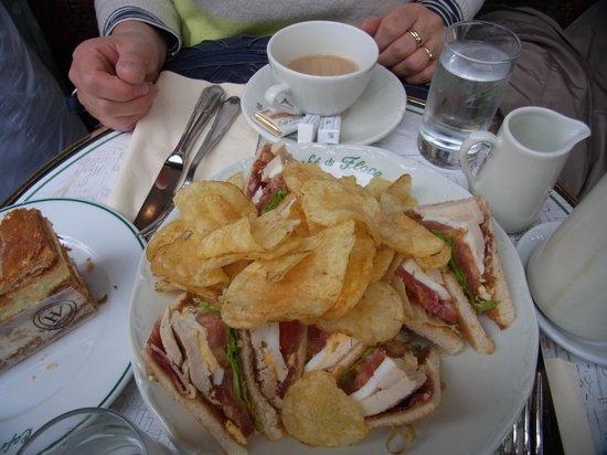 Café de Flore : delicious sandwich