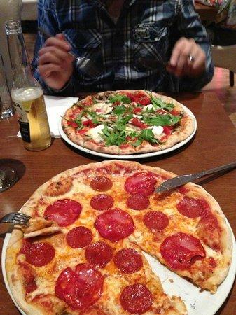 La vela: Pizza!