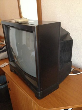 Hunguest Platanus Hotel: tv