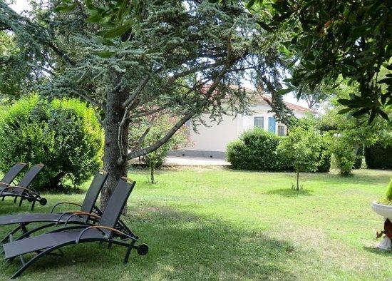La Maison de Mamie : jardin