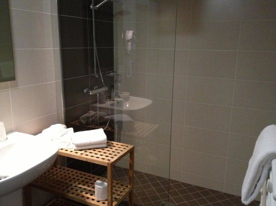 Hotel Reine Mathilde: Bathroom