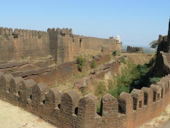 Double moat at Bidar Fort