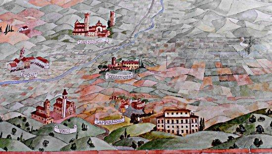 La Toscana : vista poetica dalla panoramica...