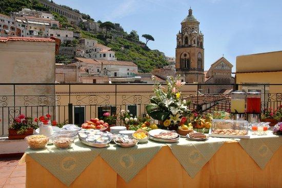 Hotel Amalfi : Veduta terrazza