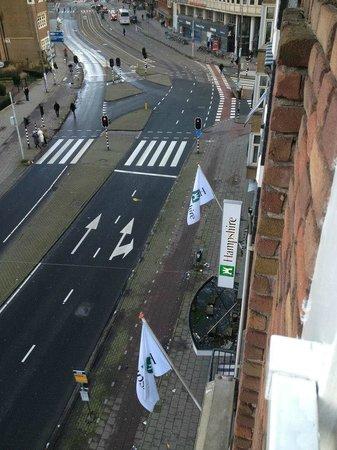 Hampshire Hotel - Theatre District Amsterdam: veduta sulla via per leidsplein