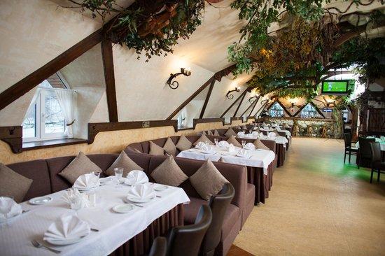 Kozatskiy Stan Hotel: Lounge bar Wild Wood