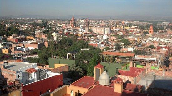 Casa de la Cuesta: View of San Miguel