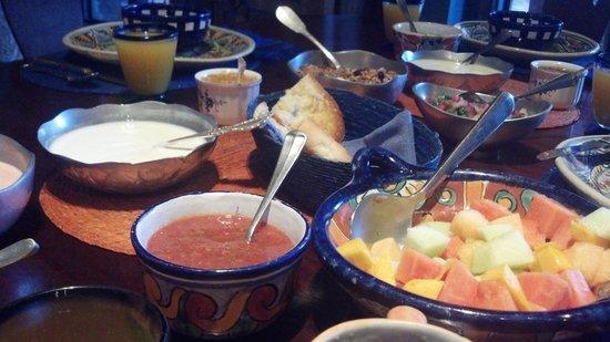Casa de la Cuesta: A delicious breakfast!