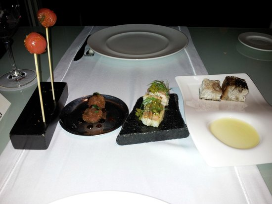 Appetizers picture of cocina de autor grand velas - Cocina de autor ...