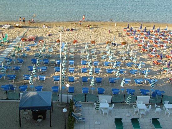 Hotel Internazionale: La plage