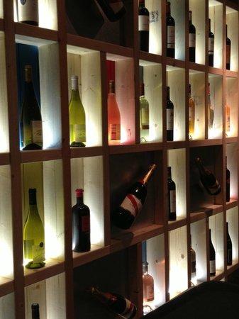 Le TRENT' de Trentemoult : Mur de vins