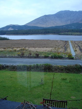 Lough Inagh Lodge: View from our room