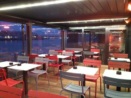Le TRENT' de Trentemoult : Terrasse panoramique couverte et chaufée