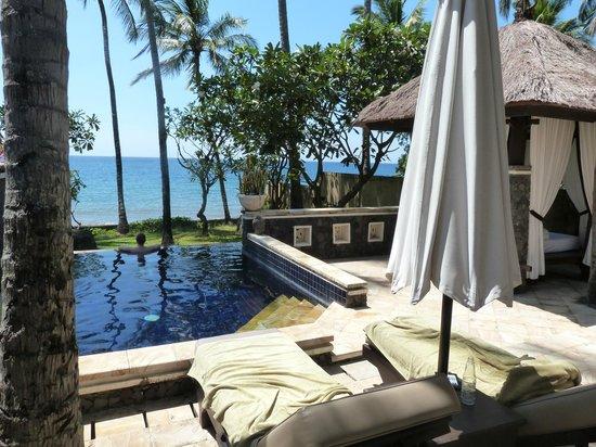 Spa Village Resort Tembok Bali: View from villa Samudra