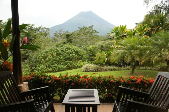 Arenal Manoa Hotel: Great view from our room