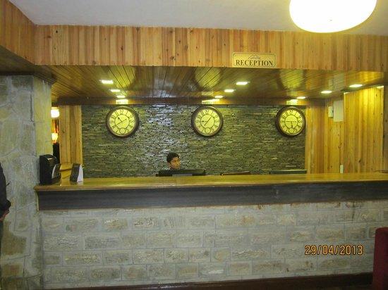 Summit Yashshree Suites and Spa : Reception