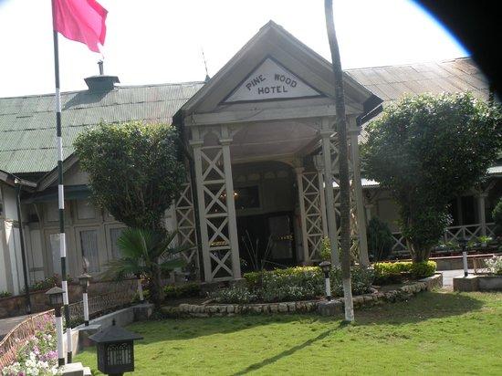 Pinewood Hotel: gate