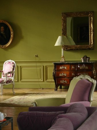 Le Chateau de Reignac : Le grand salon