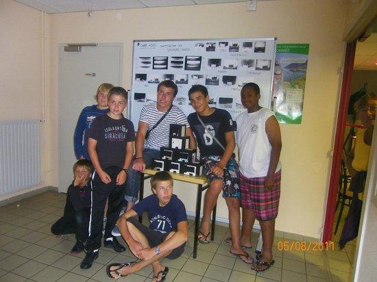 Les Tourelles : groupe d'ados 2011